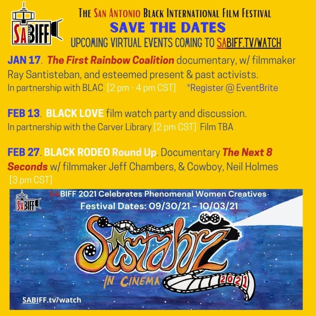 SABIFF Schedule of Events Jan-Feb